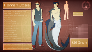 Ferran Joss Reference Sheet by PurpleArtemis