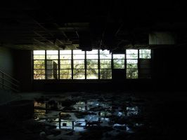 Abandoned Evening by ByrdsEyePhotography
