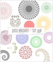 decorative brushes - set 008 by willowtree84