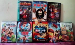 My movie DVD collection (Chinese) by Placemario