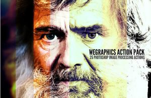 Free WeGraphics Photoshop Actions by Designslots
