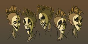 kandice faces by CoconutMilkyway