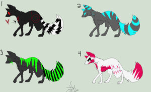::CLOSED:: Adoptables Again by Silhouett3s
