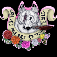 knives are always better by AElOU