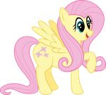 Fluttershy Excited by Gigo-VectnPix