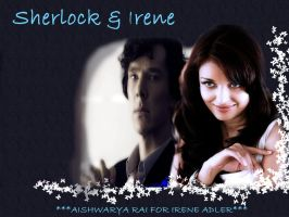 Sherlock and Irene by MademoiselleMeg