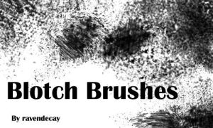 Blotch Brushes by ravendecay