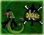 Drake the Snake Colored by ChaosofRuin