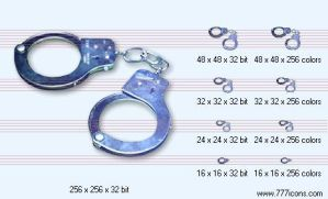 Handcuffs Icon by money-icons
