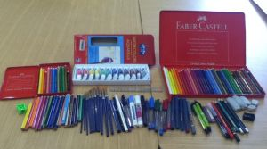 My Art tools and materials by royo22