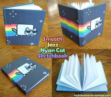 Smooth Jazz Nyan Cat Book by MyFebronia