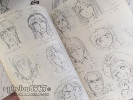 Battle Rehime Random Character Facesets Preview 00 by sphelon8565