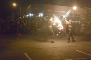 Ignite the Night Fire/Food Fest,Flamin Sword Fight by Miss-Tbones