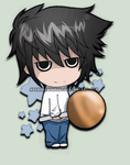 .: L - Deathnote :. by adobongsiopao