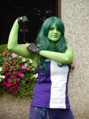 Back to the Kitacon 2015 - Marvel | She Hulk by FifiMcFu