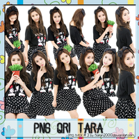 PNG PACK # 3 - Qri Tara by daran2000