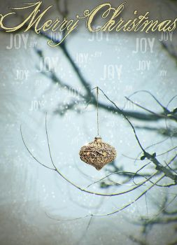 Lonely Christmas Ornament by coloringsilence
