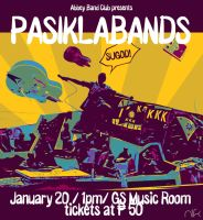 Pasiklabands AbbeyBand Poster by nicollearl