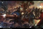Epic battle Von Fisher Saga by neisbeis