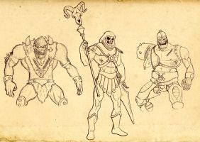 Masters of the Universe by Sturby