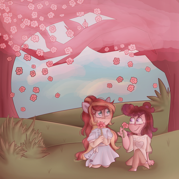 Spring Thing (Contest Entry for Pretty Shine) by VioletWinged22