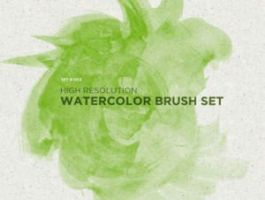 High Resolution Watercolor Brush by analeewon