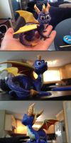 Spyro Sculpture - Alternate Shots by Gatobob