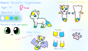 Nyanity Reference Sheet by Kira-Nyan
