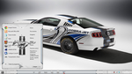 Theme Mustang For Windows 7 by Brasileno2010
