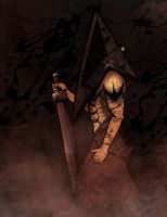 Pyramid Head by ChaosWinter