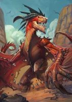 Red Dragon by largee17