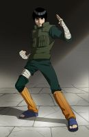 Rock Lee by doubleleaf
