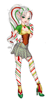 Christmas Candy Cane by phoenix1784