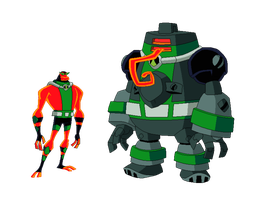Ben 10K Biomnitrix Fusion - NRGFrag by TheRedJoker351