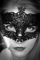 Masquerade, paper faces on parade II by anitkka