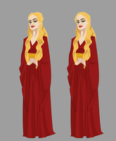 Cartoon Cersei by TopHatTurtle