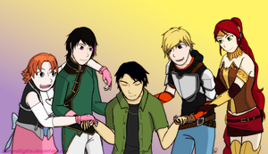 For Monty Oum by SakuraNights