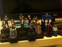 Doctor Who figurine collection 1-11 + TARDIS + SD1 by Kirby-Force