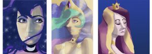 Princess Portraits by AsterDog