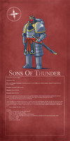 2nd Legion - Sons of Thunder by Blazbaros