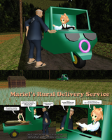 MMD Mariel's Rural Delivery Service by Trackdancer