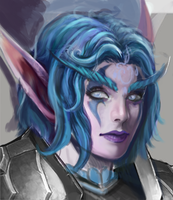 Night elf process by Kimyri
