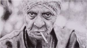 old woman by jehoshephat