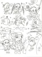 LBP2 doodles 1 by DreamerMB
