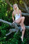 Kahli - white fairy in tree 1 by wildplaces