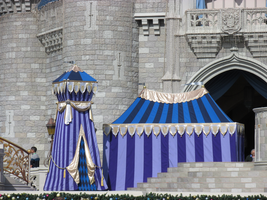 Cinderella Castle Close-up by WDWParksGal-Stock
