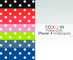 7 Colours Pokka Dots - iP4 by purpl3d