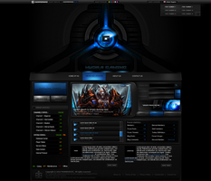 HydraGaming Template by MsT4GFX