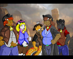rattle shake and the black hat gang by QuickTron