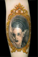 bride of frankenstein by asussman